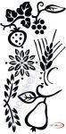 Fekete falmatrica - Természet #73
