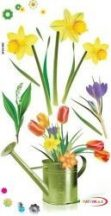 Falmatrica - Tavaszi virágok öntözőkannával