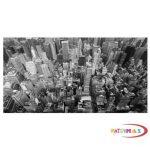 Fotó felbontású falmatrica - New York felhőkarcolói felülről