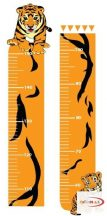 Magasságmérő falmatrica - Tigrises magasságmérő kicsiknek