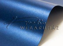 Metál fényű papír - Kék színű metálfényű papír 110gr, egyoldalas