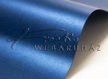 Metál fényű papír - Mélykék színű metálfényű papír 110gr, egyoldalas