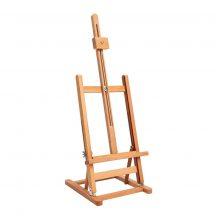 Festőállvány tölgyfából - Nagy asztali állvány, állítható dőlésszöggel