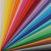 VIVALDI CANSON, savmentes színes papír, ívben 185g/m2 30 árnyalat  A3
