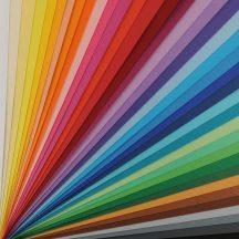 VIVALDI CANSON, savmentes színes papír, ívben 185g/m2 30 árnyalat 50x70 cm