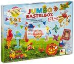 Kreatív hobby készlet gyerekeknek - 50 kreatív papír ötlet - 107 db-os készlet táskában - Újra kapható!