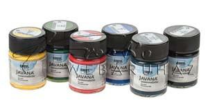 Prémium selyemfesték készlet, 6 színű - JAVANA
