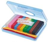 Gyurma készlet, 10 színű, Plastilin, dobozban