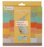 Origami papír, Tavasz hajtogató készlet, 20x20cm, 60 lap