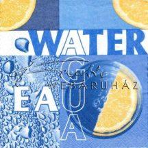 Víz, Szalvéta