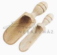 Díszíthető fa fűszerkanál csomag - Méretek: 6cm, 7cm, 8,5cm, 10cm, 12cm, 14cm hosszúságú