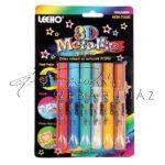 3D Metál díszítő toll - 6 színű készlet