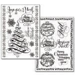 Kreatív hobby - Transzfer papír, 2 ív A4 - Vintage Karácsony minta