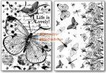 Transzfer papír - Lepkék és szitakötők - 2 ív A4 - Kreatív hobby
