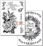 Transzfer papír - Rózsák - 2 ív A4 - Kreatív hobby