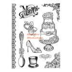 Guminyomda - Esküvői motívumok - Részletgazdag pecsételő