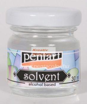 Oldószer,  alkoholos - Üvegfesték hígító 30 ml