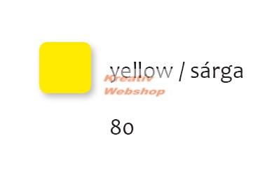 Matt akrilfesték 50 ml sárga