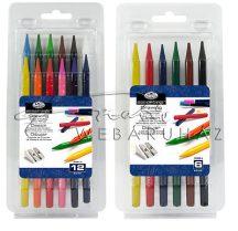 Színes tömör ceruzakészlet - Royal 12 színű készlet
