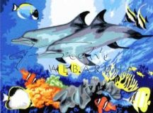 Kreatív hobby - Delfinek