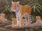 Kreatív hobby - Tigris család