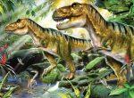 Kifestő készlet akrilfestékkel, gyerekeknek - 30x40 cm - Számos kifestő készlet - Dinoszauruszok