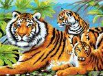 Kreatív hobby - Tigris és kölykei