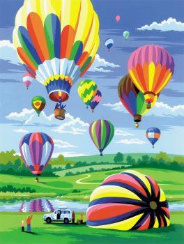 Kreatív hobby - Hőlégballon