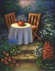 Kreatív hobby - Kerti asztal