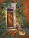 Kreatív hobby - Kifestőkészlet felnőtteknek, akril festékkel és ecsettel - Viktoriánus ház