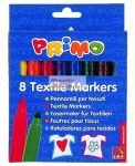 Textilfilc készlet, 8 színű - PRIMO