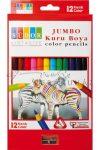 Kreatív hobby - Jumbo színesceruza készlet - 12 szín