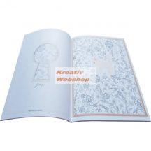 Kifestőkönyv felnőtteknek - kifestő, színező, 40 lapos - Cicák