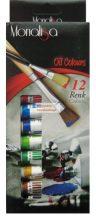 Olaj festék készlet, tubusos 12x12 ml