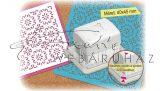 Lyukasztó - Ornament mintalyukasztó, mágneses, 4x4,5cm méretű mintával