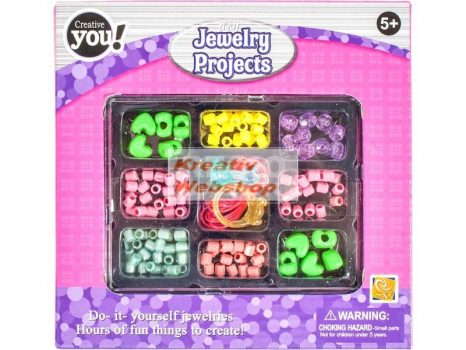 Gyöngyfűző kreatív játék készlet