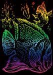Kreatív hobby - Szivárványos - Trópusi hal