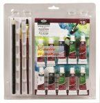 Kreatív hobby - Tubusos akvarell festő készlet - Royal 15