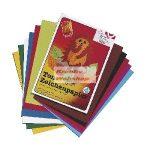 Kreatív hobby - Kétoldalas élénk kartonpapír, A4 20db