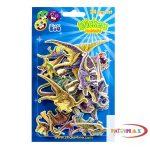 Falmatrica - Dinoszauruszok - kicsi kartonmatricák