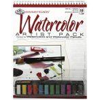 Akvarell festőkészlet A4 - 14 részes művész készlet