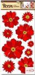Falmatrica - Piros virágok