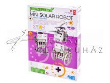 Napelemes robotok készítő készlet - 4M