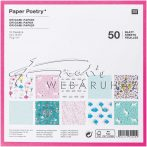 Origami papír 15x15 cm - 50 lapos készlet - Csodák, 10 féle design