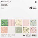Origami papír 15x15 cm - 50 lapos készlet - Húsvéti motívumok, 10 féle design