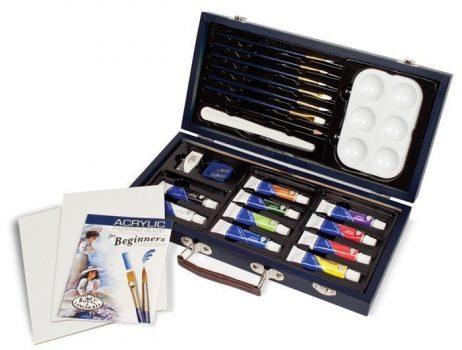 Kreatív hobby - Akrilfestő készlet  - Royal kezdő