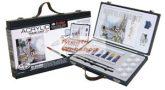 Akrilfestő készlet táskában, 14 részes szett - elegáns fadobozban - Royal Acryl 14 - Újra kapható