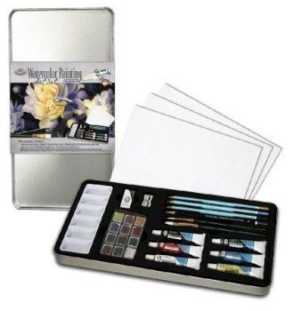 Kreatív hobby - Akvarell deluxe készlet - Royal 24