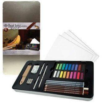 Kreatív hobby - Pasztell deluxe készlet - Royal 36