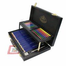 Fadobozos óriás színes rajzkészlet - Royal 59 részes színes